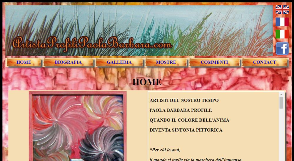 Artista Profili Paola Barbara