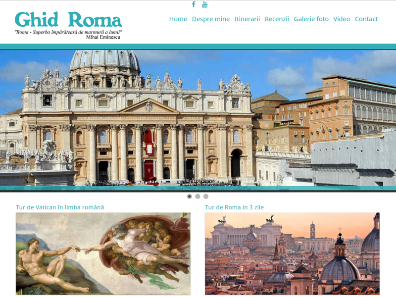 website Ghid Roma